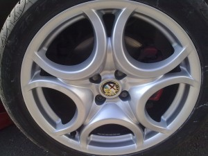 Alfa Alloy Wheel Repair after